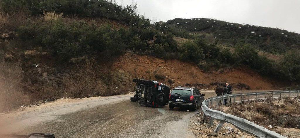 Aksident i rëndë në Elbasan, raportohen 6 të plagosur, mes tyre 1 mjeke në gjendje të rëndë