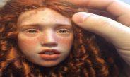 E mahnitshme, publikohen skulpturat kukulla që duken si të gjalla