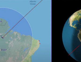 VIDEO/ Raketa kineze jashtë kontrollit po i afrohet Tokës dhe nuk dihet ende se ku do të bjerë