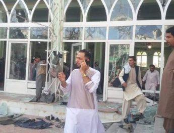 Shpërthim në xhami gjatë kohës së faljes në Afganistan, 32 viktima dhe 45 të plagosur(VIDEO)